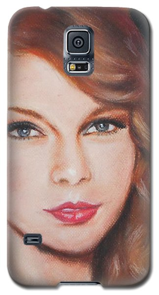 Taylor Swift  Galaxy S5 Case by Ronnie Melvin