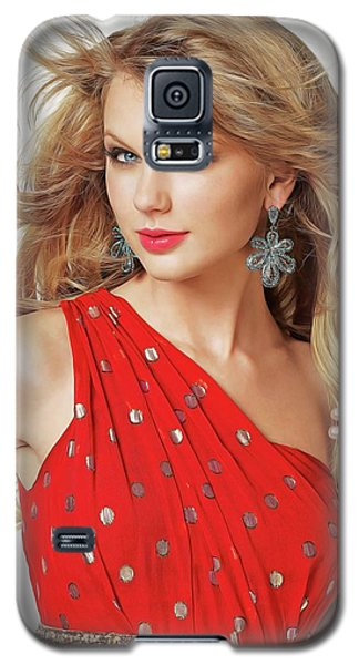 Taylor Swift Galaxy S5 Case by Twinkle Mehta