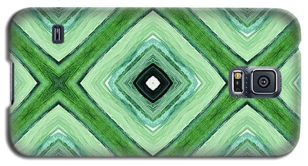 Tea Garden- Art By Linda Woods Galaxy S5 Case by Linda Woods