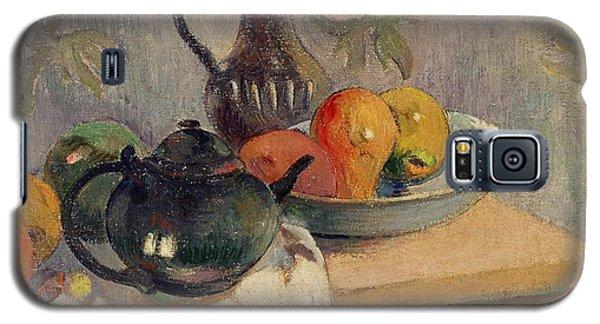 Teiera Brocca E Frutta Galaxy S5 Case by Paul Gauguin
