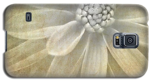Flower Galaxy S5 Cases - Textured Dahlia Galaxy S5 Case by Meirion Matthias