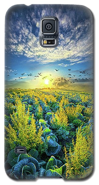 That Voices Never Shared Galaxy S5 Case by Phil Koch
