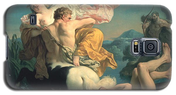 The Abduction Of Deianeira By The Centaur Nessus Galaxy S5 Case by Louis Jean Francois Lagrenee