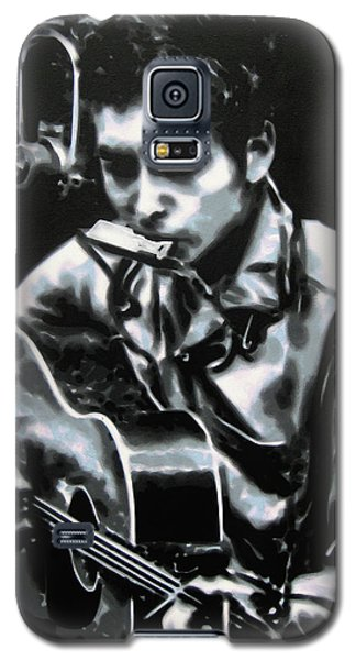 The Answer My Friend Is Blowin In The Wind Galaxy S5 Case by Luis Ludzska