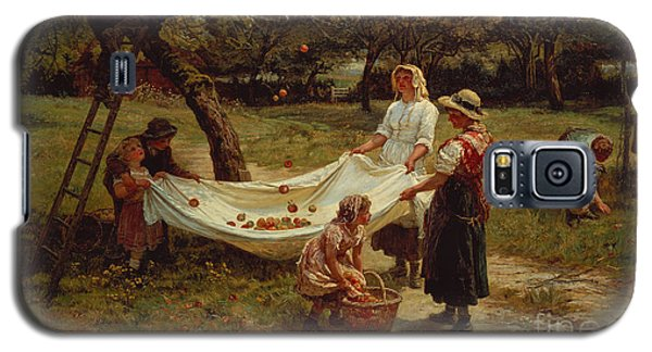The Apple Gatherers Galaxy S5 Case by Frederick Morgan