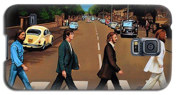 The Beatles Abbey Road Galaxy S5 Case by Paul Meijering