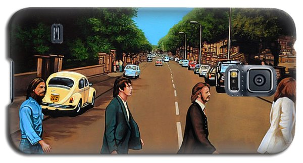Music Galaxy S5 Cases - The Beatles Abbey Road Galaxy S5 Case by Paul Meijering
