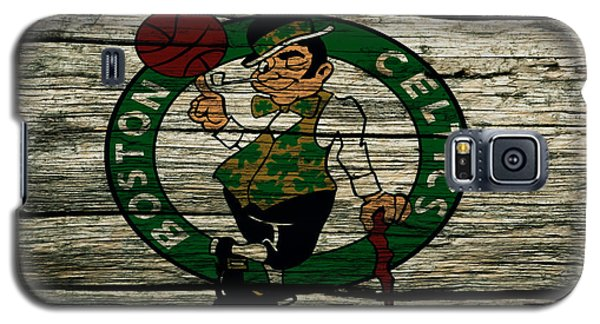 The Boston Celtics 2w Galaxy S5 Case by Brian Reaves