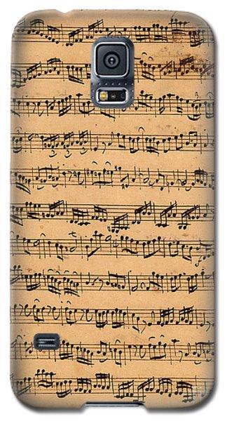 The Brandenburger Concertos Galaxy S5 Case by Johann Sebastian Bach