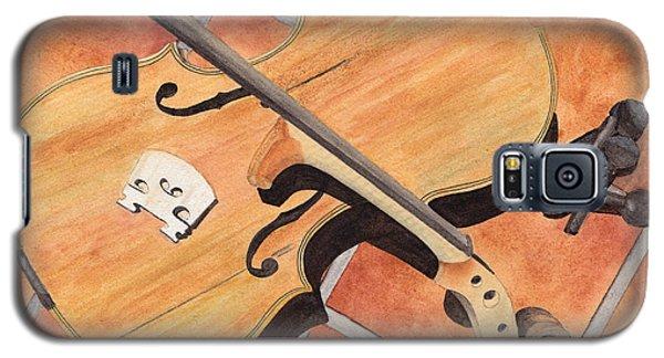 The Broken Violin Galaxy S5 Case by Ken Powers