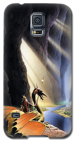 The Citadel Galaxy S5 Case by The Dragon Chronicles - Steve Re