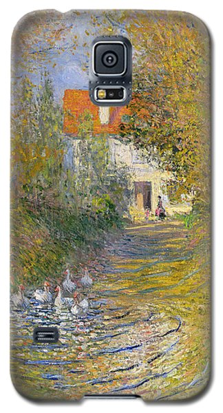 The Duck Pond Galaxy S5 Case by Claude Monet
