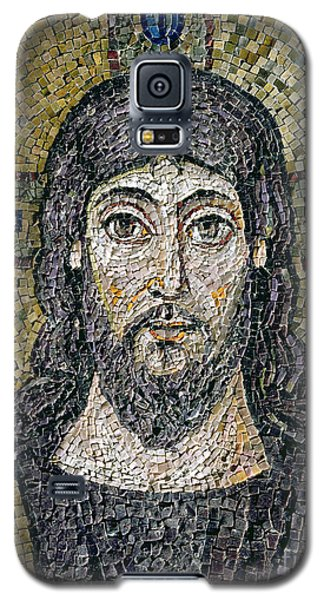 Reliefs Galaxy S5 Cases - The face of Christ Galaxy S5 Case by Byzantine School