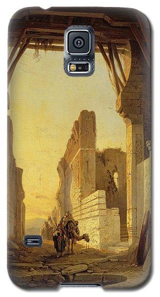 The Gates Of El Geber In Morocco Galaxy S5 Case by Francois Antoine Bossuet