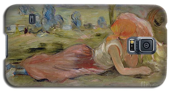 The Goatherd Galaxy S5 Case by Berthe Morisot