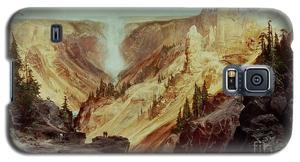The Grand Canyon Of The Yellowstone Galaxy S5 Case by Thomas Moran