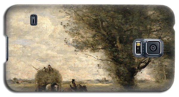 The Haycart Galaxy S5 Case by Jean Baptiste Camille Corot