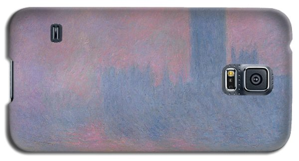 The Houses Of Parliament London Galaxy S5 Case by Claude Monet