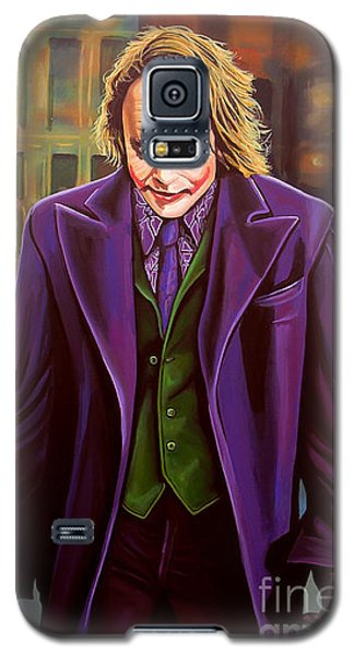 The Joker In Batman  Galaxy S5 Case by Paul Meijering