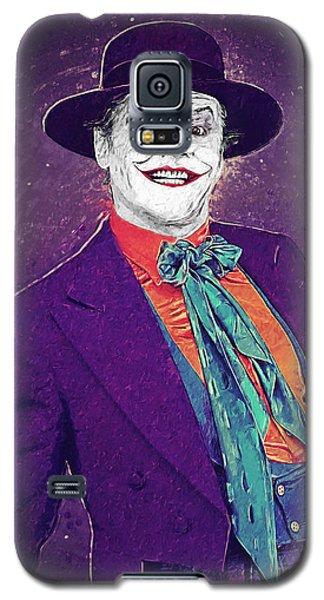The Joker Galaxy S5 Case by Taylan Apukovska