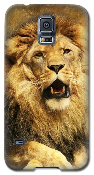 Animals Galaxy S5 Cases - The King Galaxy S5 Case by Angela Doelling AD DESIGN Photo and PhotoArt