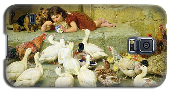 The Last Spoonful Galaxy S5 Case by Briton Riviere