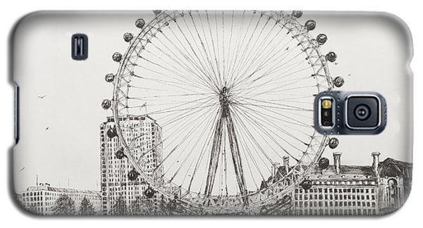 The London Eye Galaxy S5 Case by Vincent Alexander Booth