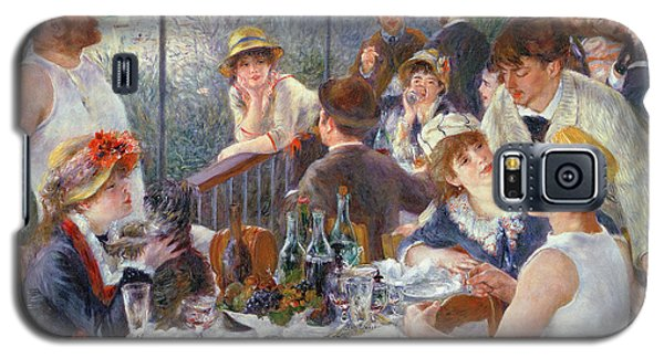 The Luncheon Of The Boating Party Galaxy S5 Case by Pierre Auguste Renoir