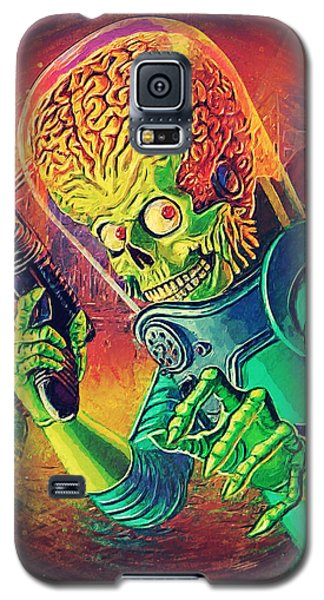 The Martian - Mars Attacks Galaxy S5 Case by Taylan Soyturk