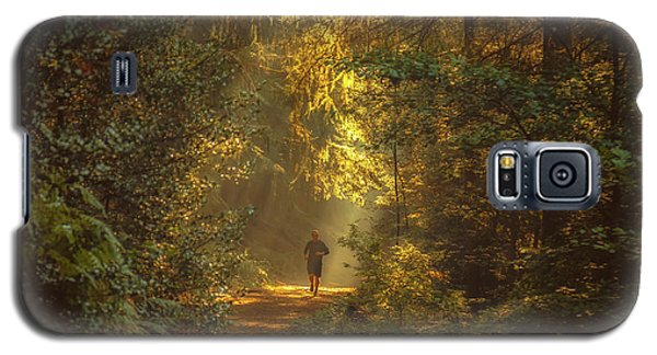 Popular Galaxy S5 Cases - The morning jog Galaxy S5 Case by Chris Fletcher