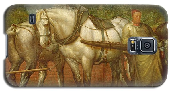 The Noonday Rest  Galaxy S5 Case by George Frederick Watts