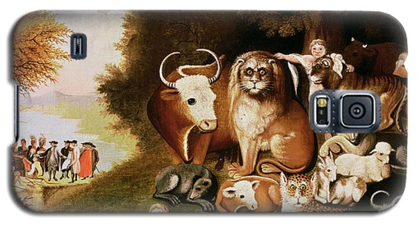 The Peaceable Kingdom Galaxy S5 Case by Edward Hicks