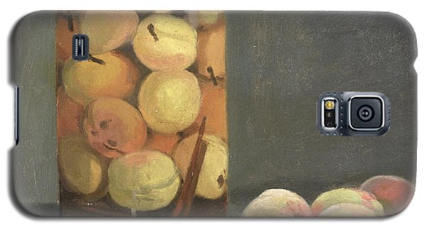 The Peach Glass Galaxy S5 Case by Claude Monet