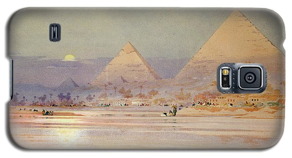 The Pyramids At Dusk Galaxy S5 Case by Augustus Osborne Lamplough