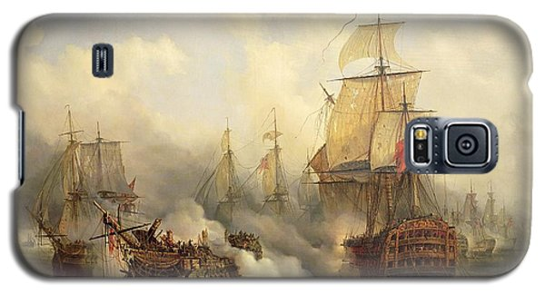 The Redoutable At Trafalgar Galaxy S5 Case by Auguste Etienne Francois Mayer