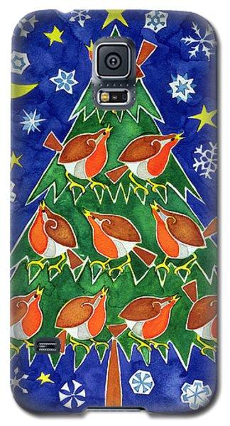 The Robins Chorus Galaxy S5 Case by Cathy Baxter