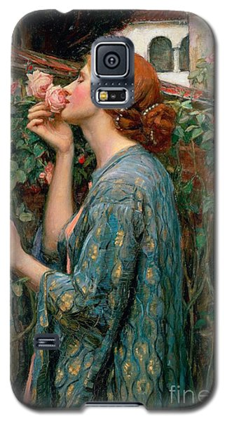 The Soul Of The Rose Galaxy S5 Case by John William Waterhouse