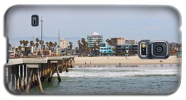 The South View Venice Beach Pier Galaxy S5 Case by Ana V Ramirez