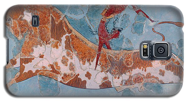 The Toreador Fresco, Knossos Palace, Crete Galaxy S5 Case by Greek School