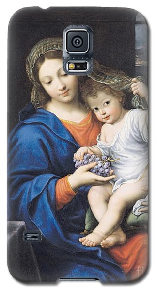 The Virgin Of The Grapes Galaxy S5 Case by Pierre Mignard