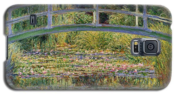 The Waterlily Pond With The Japanese Bridge Galaxy S5 Case by Claude Monet