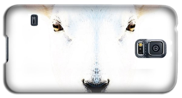 The White Sheep By Sharon Cummings Galaxy S5 Case by Sharon Cummings