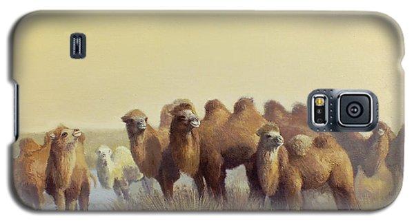 The Winter Of Desert Galaxy S5 Case by Chen Baoyi