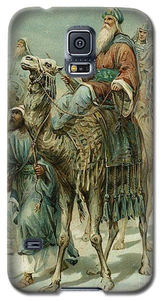 The Wise Men Seeking Jesus Galaxy S5 Case by Ambrose Dudley