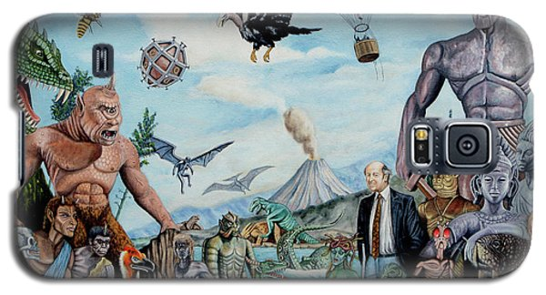 The World Of Ray Harryhausen Galaxy S5 Case by Tony Banos