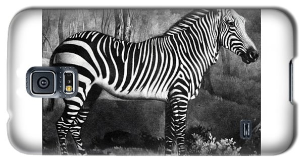 The Zebra Galaxy S5 Case by George Stubbs