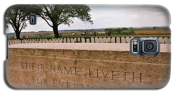 Galaxy S5 Case featuring the photograph Their Name Liveth For Evermore by Travel Pics