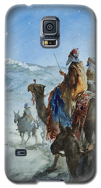 Three Wise Men Galaxy S5 Case by Henry Collier