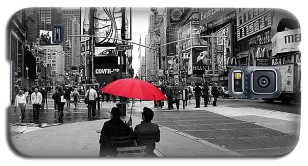 Times Square 5 Galaxy S5 Case by Andrew Fare