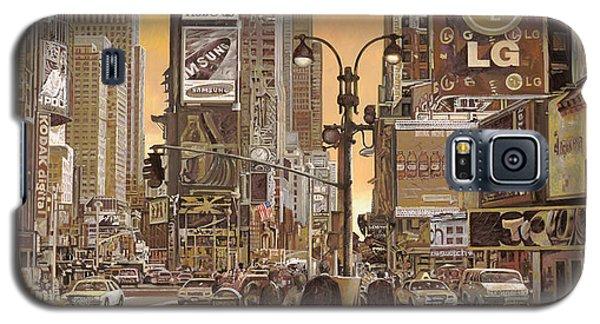 Times Square Galaxy S5 Case by Guido Borelli